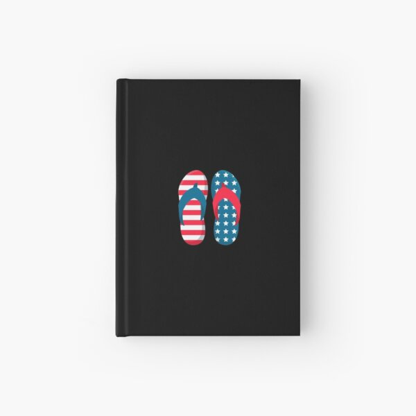 flip flop day Hardcover Journal