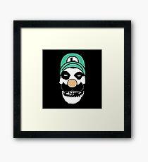 Misfit Luigi Framed Print