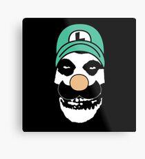 Misfit Luigi Metal Print