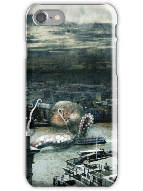 Kraken Attack in London! by Grildrig