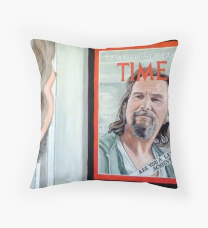 Who Is This Guy? Throw Pillow