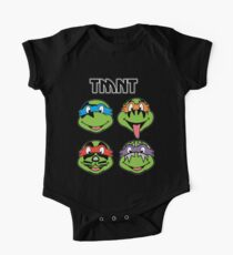 TMNT and KISS crossover One Piece - Short Sleeve