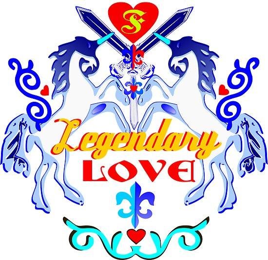 ۞»♥Unicorns: Legendary Love Prints, Cards & Posters♥«۞ by Fantabulous