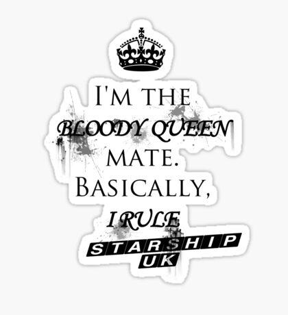 Liz 10 - Starship UK Sticker