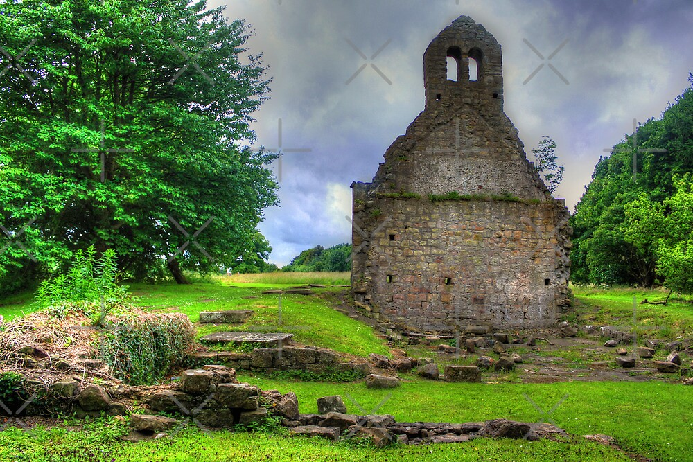 Kinneil Church by Tom Gomez
