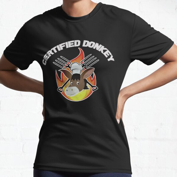 Hell's Kitchen - Certified Donkey Active T-Shirt