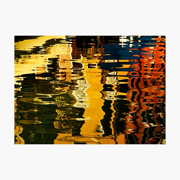 Gondolas in the Grand Canal Photographic Print