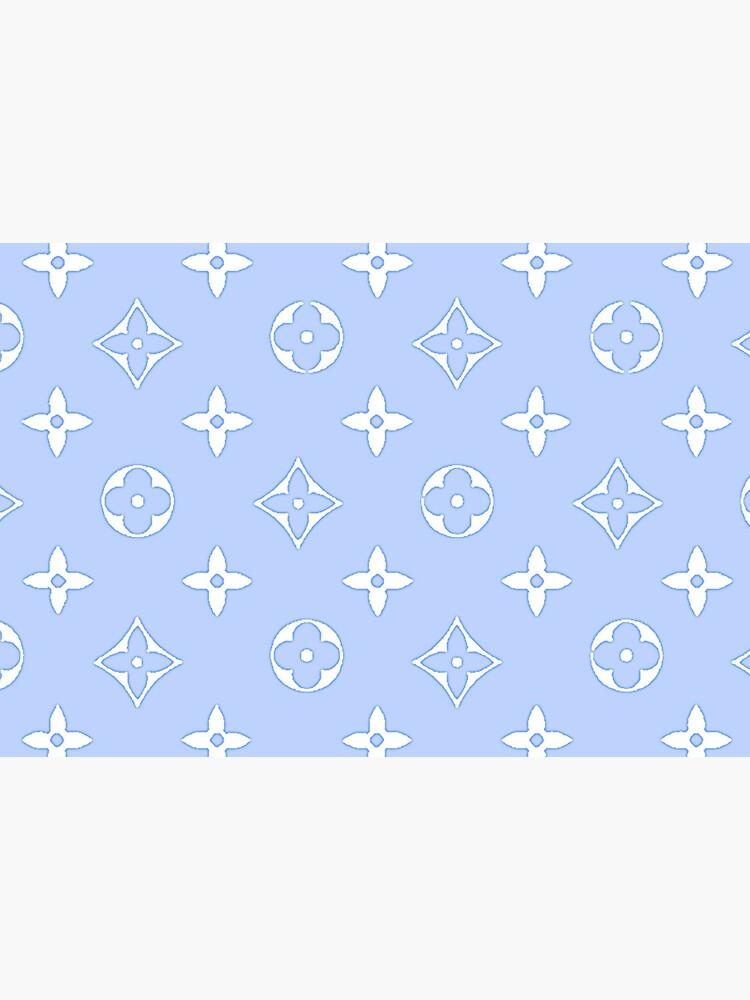 Baby Blue 2000s Y2K designer print by lunar0000