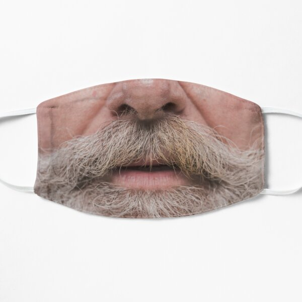 Beard denny hamlin Face Flat Mask