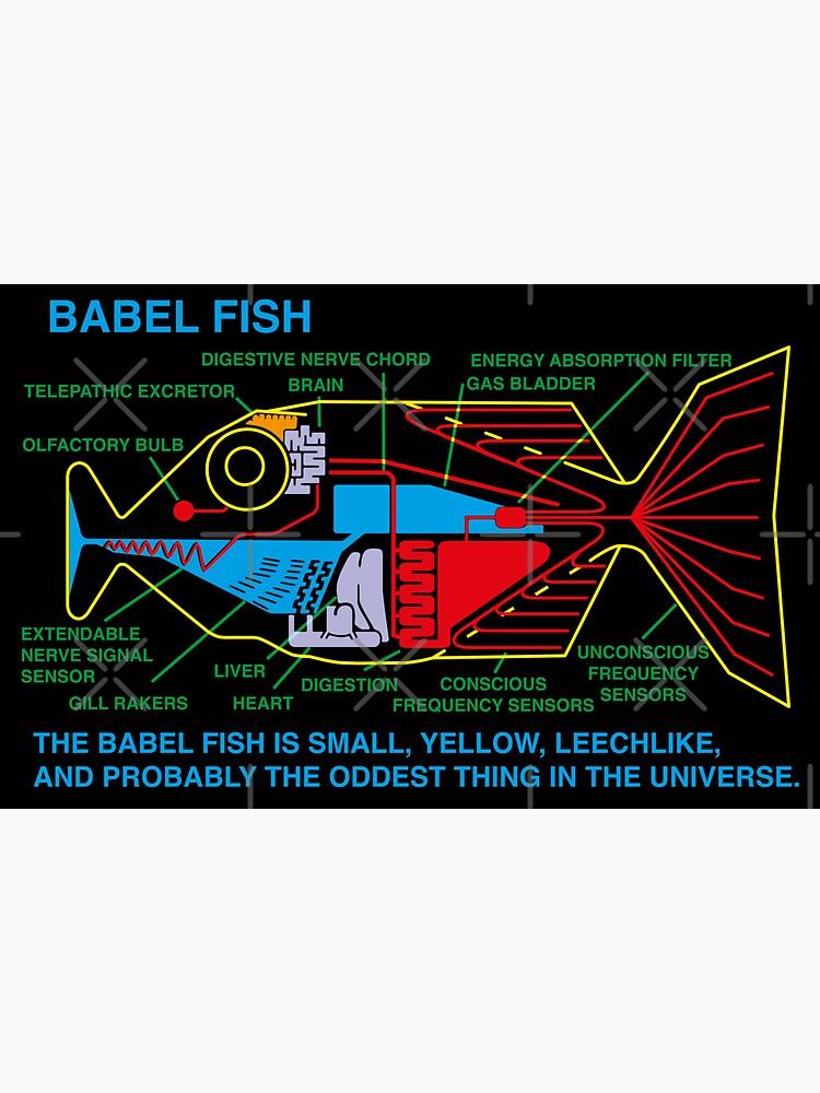 NDVH Babel Fish H2G2 by nikhorne