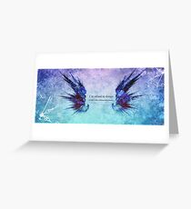 insomnia Greeting Card