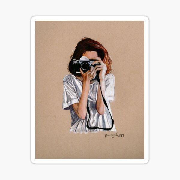 The Photographer Sticker
