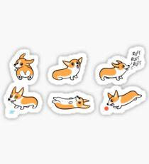 Cutie Corgis Sticker