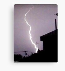 Lightning 2012 Collection 45 Canvas Print