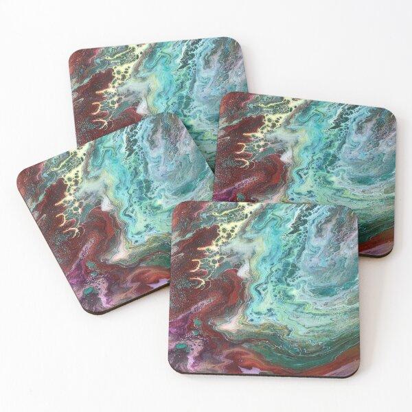 Australian Ocean Coasters (Set of 4)