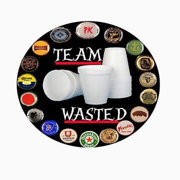 TEAM WASTED by prawmking