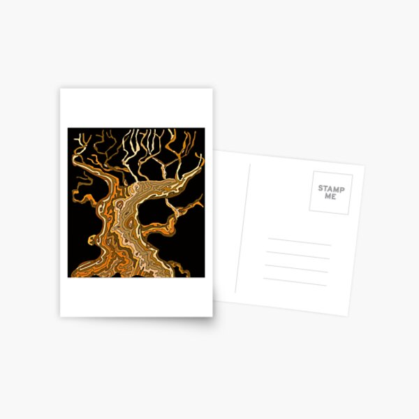 Tree Whizz  Postcard