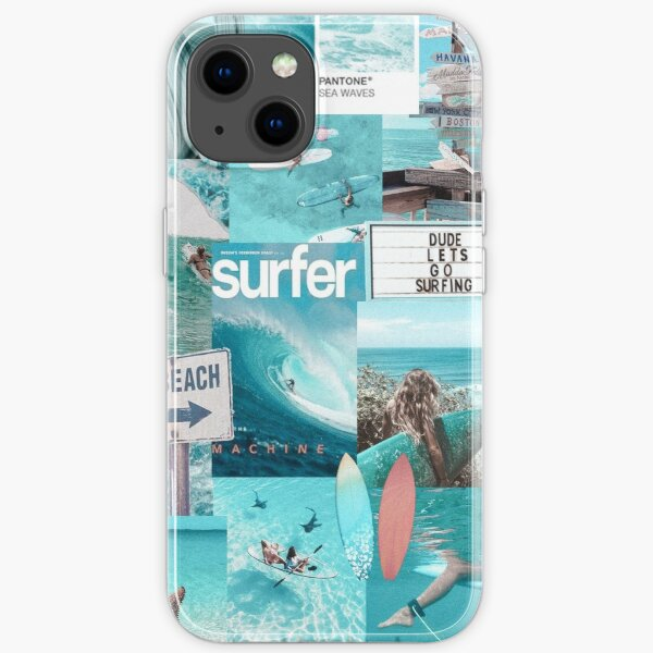 SURF DREAMS VSCO COLLAGE iPhone Soft Case