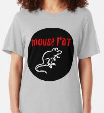 MOUSE RAT - The Band is Back in Town! Slim Fit T-Shirt