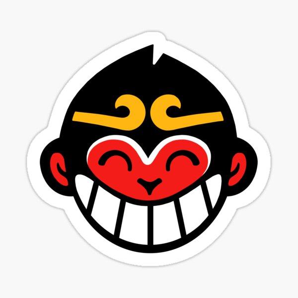 Monkie kid symbol Sticker