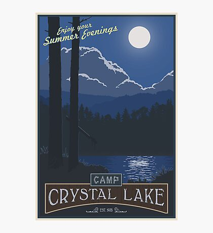 Summer Camp Photographic Print