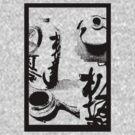 Japanese Sake bottle by Jenny Nakao Hones