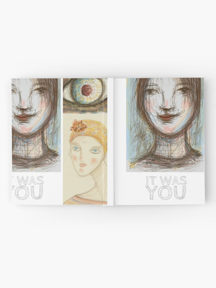 Alternate view of It was YOU Hardcover Journal