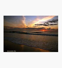 North Shore - Mudjimba on the Sunshine Coast, Queensland  Photographic Print