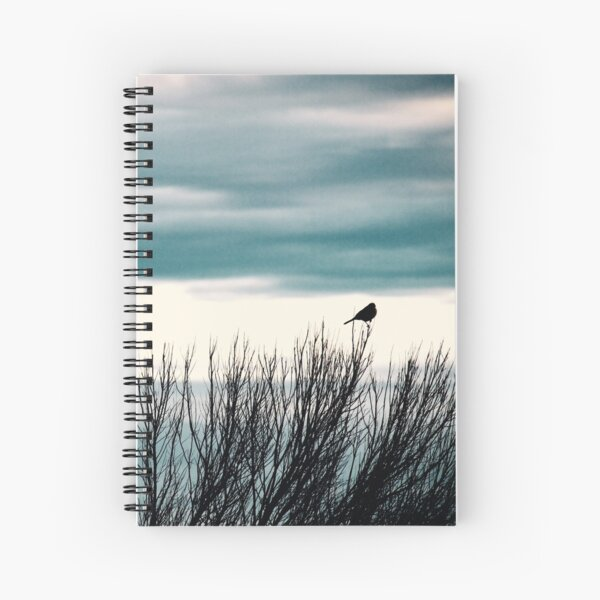 Little Bird, Bird Art, Bird Photography Spiral Notebook