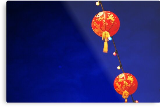 Chinese Lanterns  by Darren Taylor