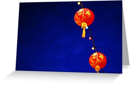 Chinese Lanterns  by Darren Taylor