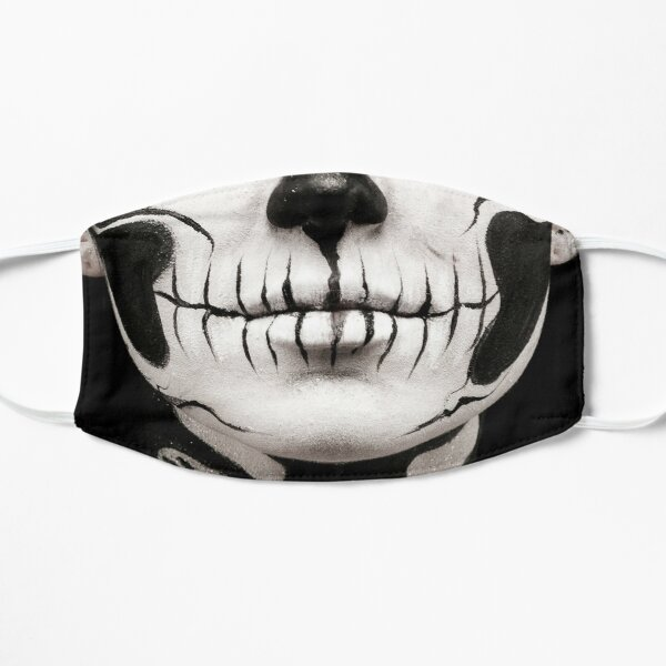Day of the Dead Flat Mask