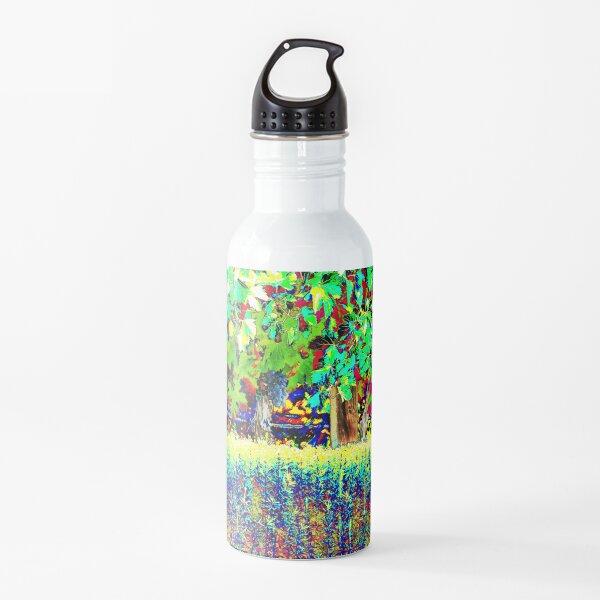 Vineyard Art, Colourful Graphic Water Bottle