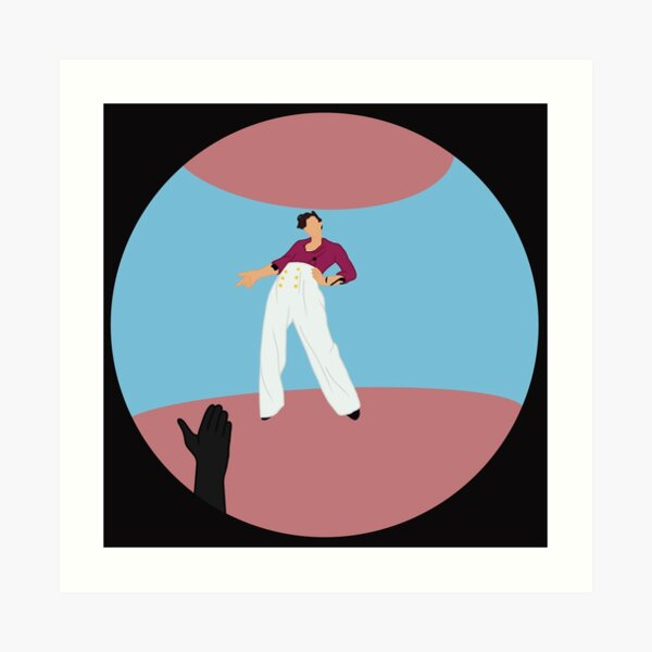 Harry Styles Fine Line Album Cover Art Print By Am1202 Redbubble