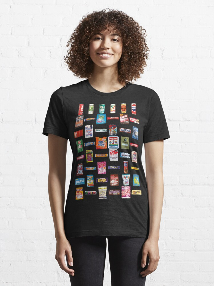 Alternate view of NDVH 80s Junk Food Essential T-Shirt