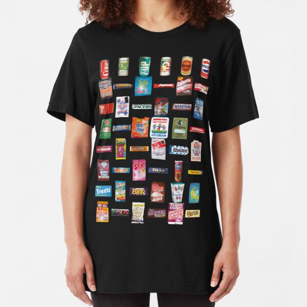 NDVH 80s Junk Food Slim Fit T-Shirt