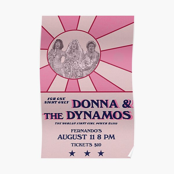 Donna and the Dynamos poster Poster