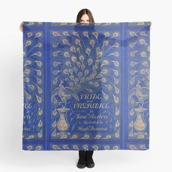 Pride and Prejudice, 1894 Peacock Cover in Blue Scarf