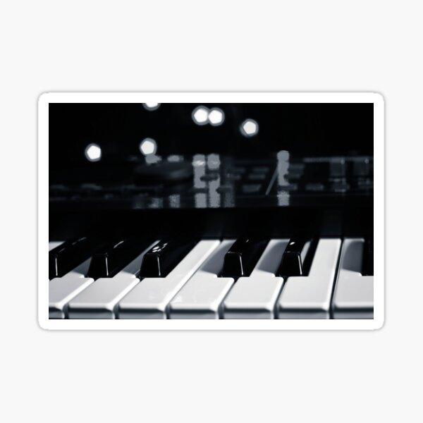 Synth Keyboard Sticker