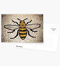 Manchester Biene Postkarten