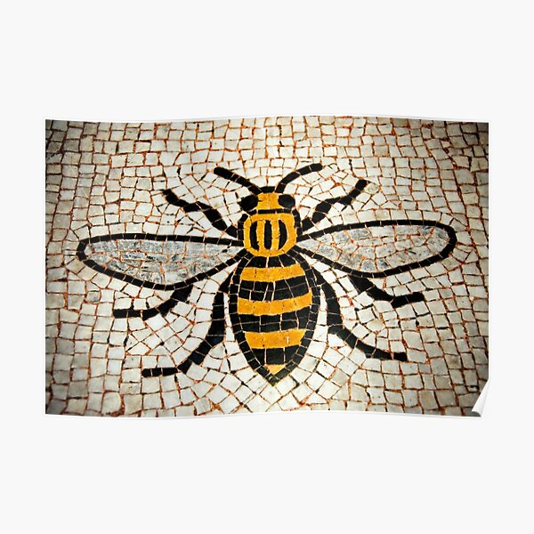 Manchester Bee Poster