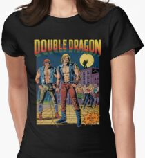 Double Dragon Women's Fitted T-Shirt