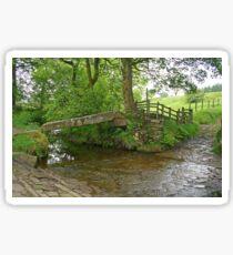 Clam Bridge, Wycoller Sticker