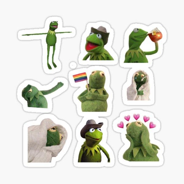 Kermit sticker set Sticker