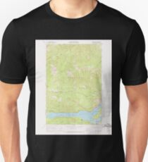 USGS Topo Map Washington State WA Rimrock Lake 243460 1967 24000 Unisex T-Shirt