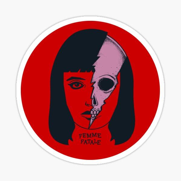 Femme Fatale Sticker