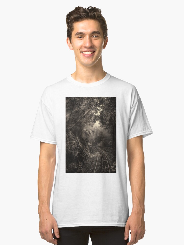 Alternate view of Steam and rainforest Classic T-Shirt