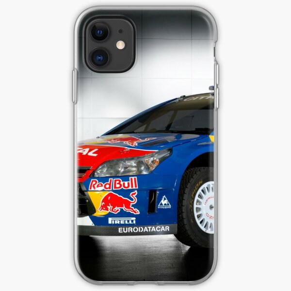 citroen wrc c4 iPhone Soft Case