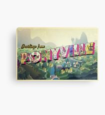 Greetings from Ponyville Metal Print