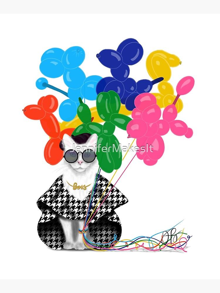 Boss Babe Balloon Dogs by JenniferMakesIt